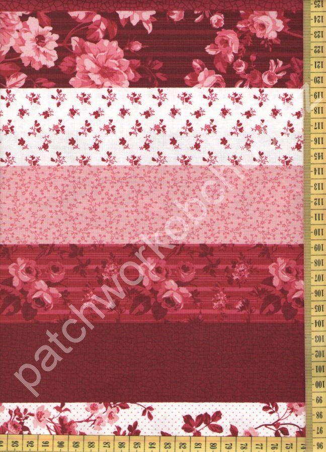 Beacon Hall Red 20862 24 Northcott - bordura