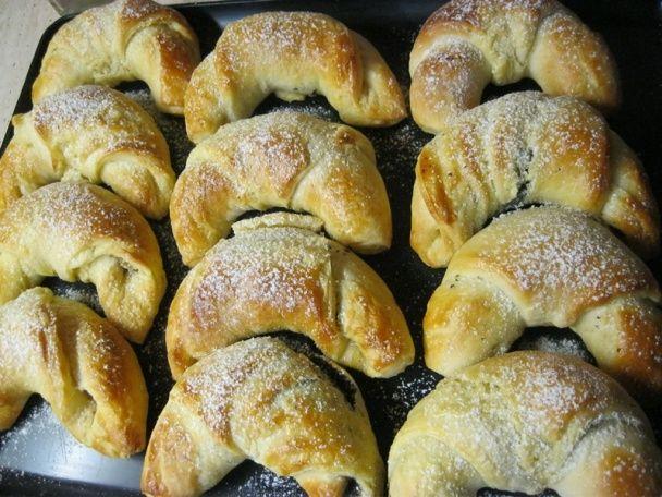 Orechové a makové maslové rožteky (fotorecept) - obrázok 7