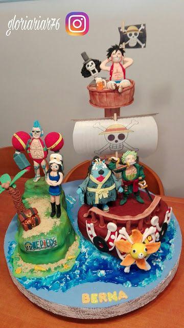 LAS DULCES TARTAS DE GLORIA:  CAKE ONE PIECE
