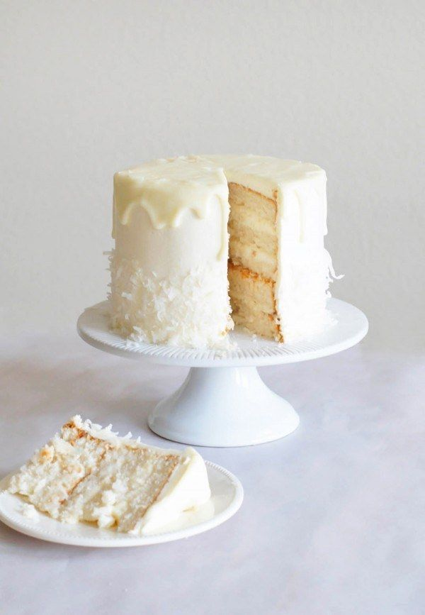 Coconut Almond White Chocolate Cake | Community Post: 23 Wonderful Ways To Eat Cake This Winter