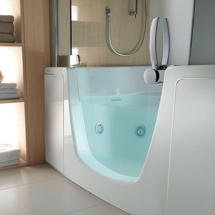 Badekar 382 og dusj i ett. Made in Italy by Teuco