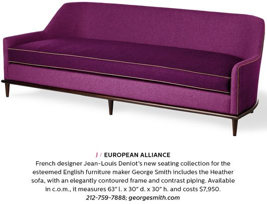 George Smith Jean Louis Deniot | Furniture | Pinterest | Sofa Bench,  Settees And Upholstery