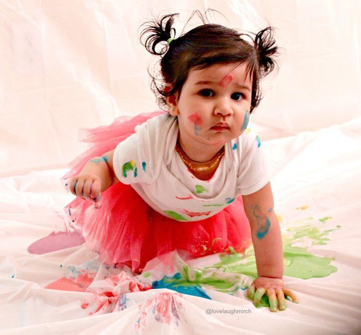 Cute Little Kid Wallpapers Baby S First Holi Holi Hai In 2019 Holi Holi