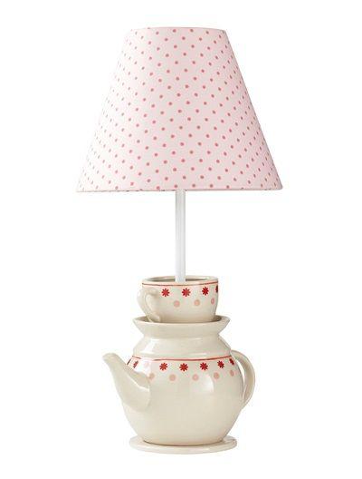 lampe de chevet th i re fille th me tea time rose imprime vertbaudet enfant style alice bb. Black Bedroom Furniture Sets. Home Design Ideas