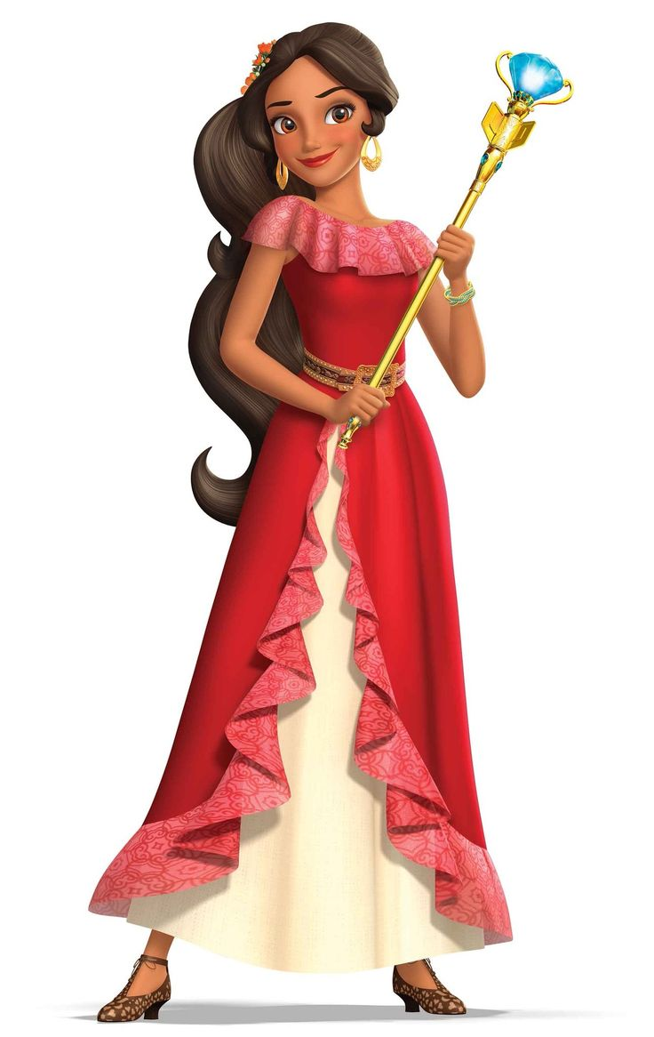 Princess Elena of Avalor is the protagonist of the Disney Channel animated series Elena of Avalor. She is the oldest princess of the Kingdom of Avalor, next in line to the throne. But before she can become Queen, she must learn to rule as crown princess. Elena was born to the late King Raul and Queen Lucia of Avalor. She resides within the kingdom's castle alongside her family, consisting of her sister Isabel, maternal grandparents Francisco and Luisa, as well as her scheming maternal...