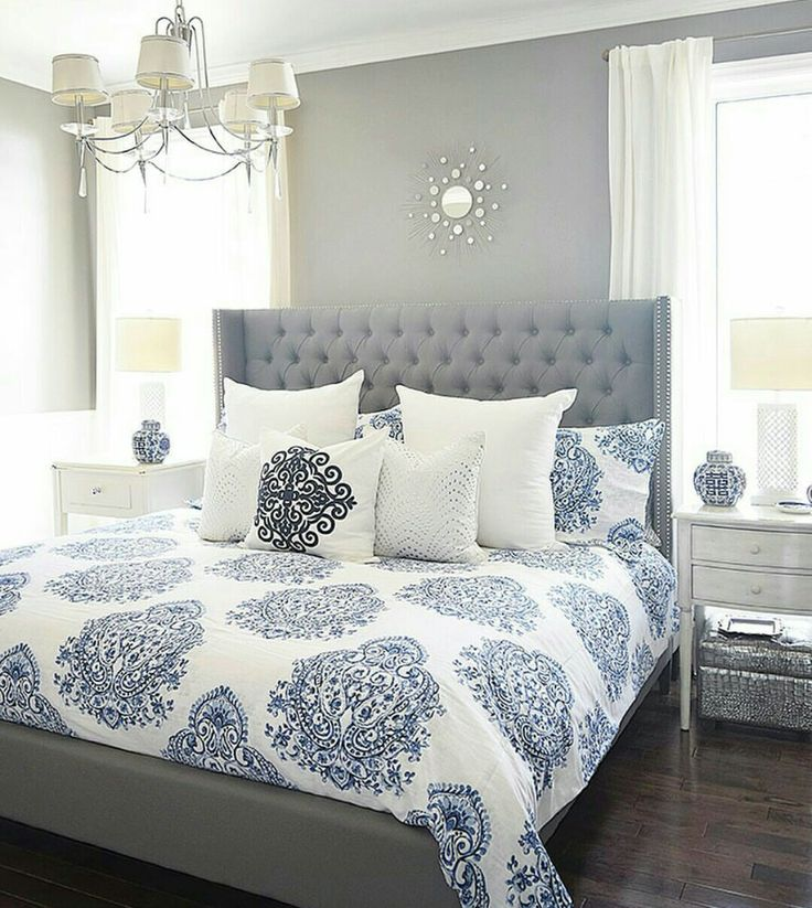 Best 55 Best Blue Cream Bedroom Ideas Images On Pinterest 400 x 300