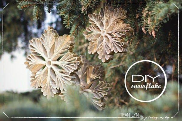 Riciclo Creativo: Decorazioni natalizie con il riciclo creativo della carta