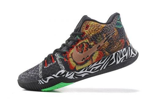 770e681afa0 Newest Mens Nike Kyrie 3 Rattlesnake Basketball Shoes For Sale