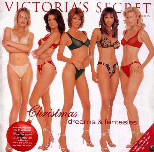 "Tyra Banks Victoria S Secret 2018: Vsmodels-and-angels: "" Victoria's Secret Christmas 1997"