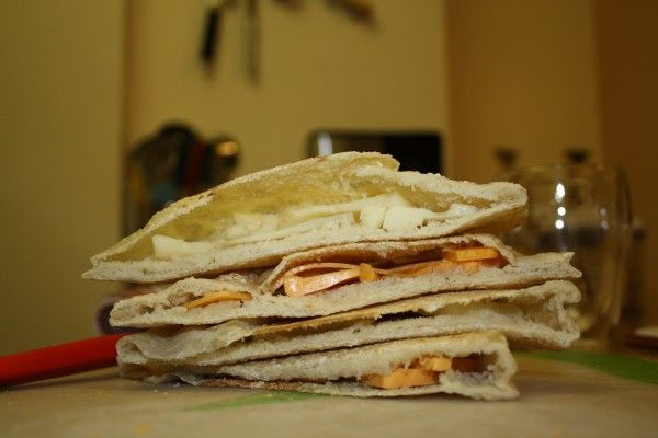 one of the easiest breads you can make - pita bread (or syrian bread)
