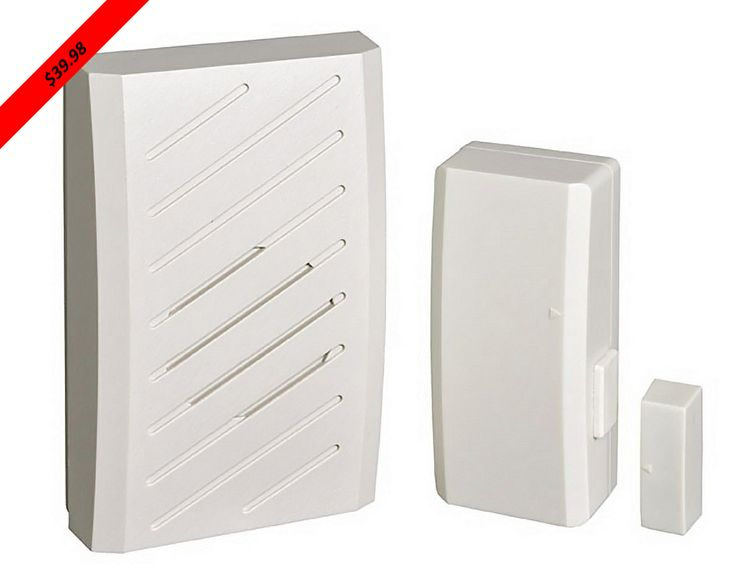 The RC2260 is an outdoor rated door/window contact entry alert. This device will