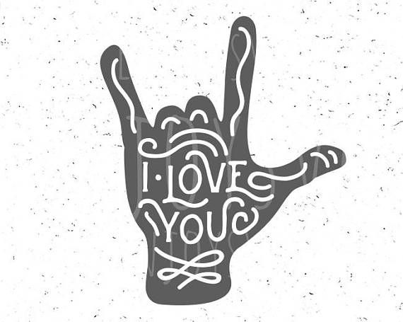 Download I Love you svg Boy Valentine svg Love hand sign svg Love ...