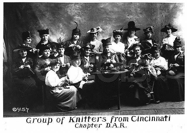 Revolutionary Knitting Circle : Cincinnati ohio usa women from the
