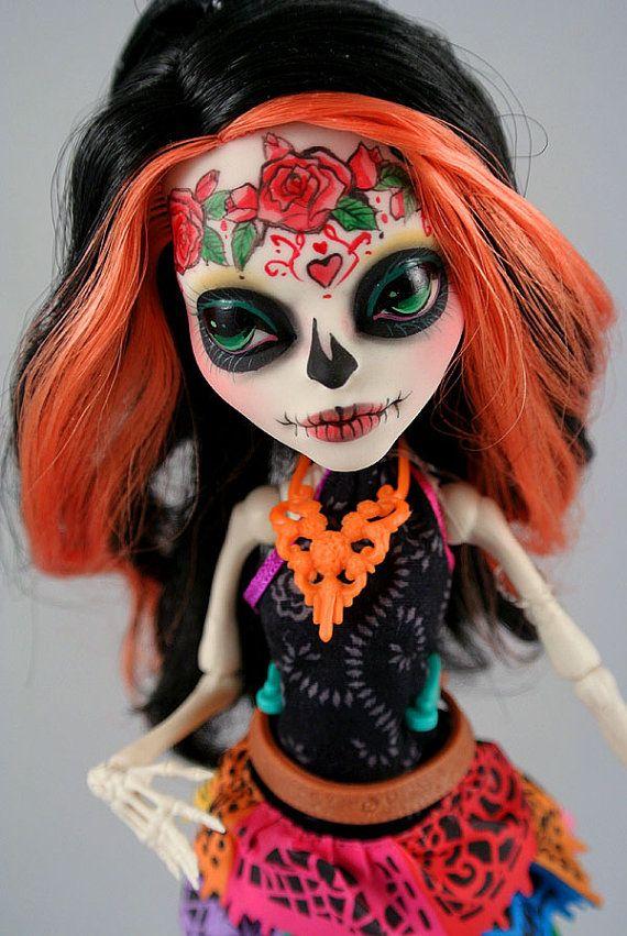 Skelita Repaint (Monster High)