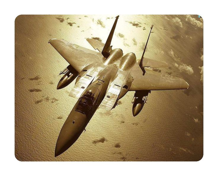 Nice Army Military Mouse Pad Fighter Jet #3