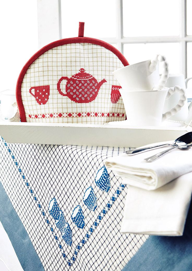 HANDMADE HOMESTYLE - Available in Cross Stitch Collection 244