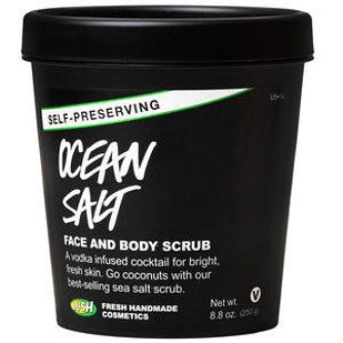 Ocean Salt Face and Body Scrub | 21 Lush Products That Actually Do What They Say