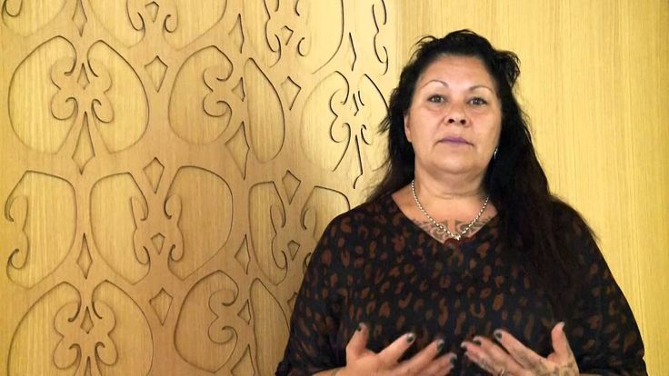 Artist Lonnie Hutchinson speaks on the use of Te Reo in her work.