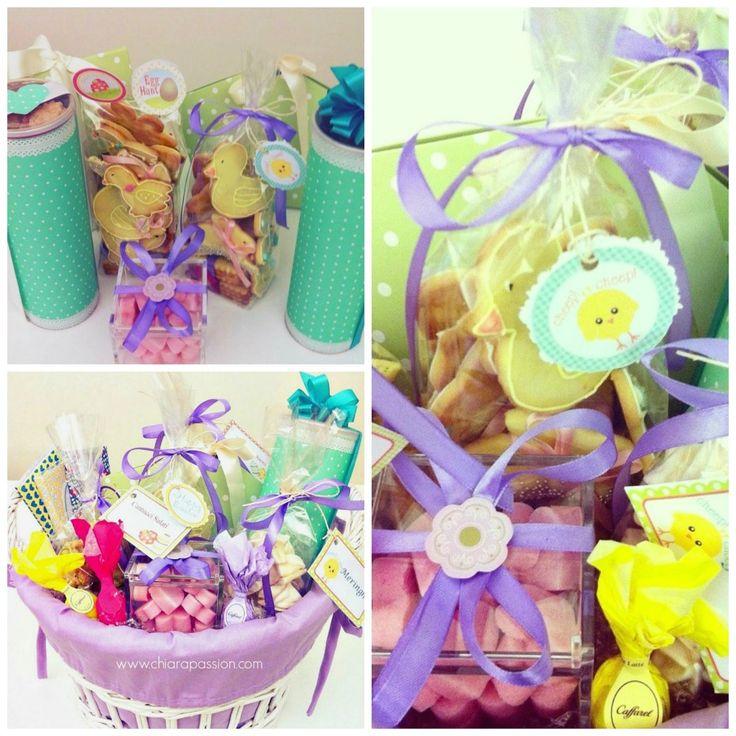 Pasqua Homemade: Barrette di cioccolato, Porta biscotti e Free Printables