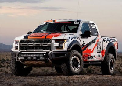 See the Muscle: 2017 Ford F150 Raptor Elevates Specs