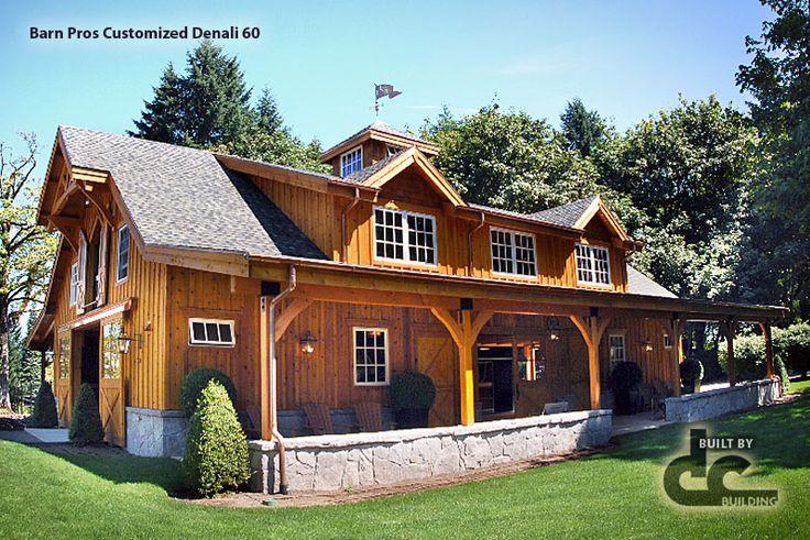 Barn pros customized denali series barn with nantucket for Barn pros nationwide