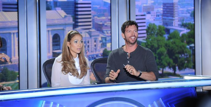 Judging expressions are often inscrutable. This shot makes more sense when you pair it with the next one. See the full episode here: http://idol.ly/fullXIVeps