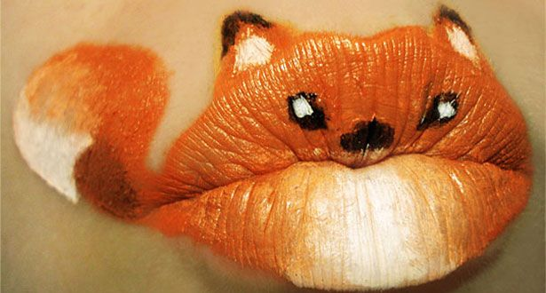 Fox lipstick