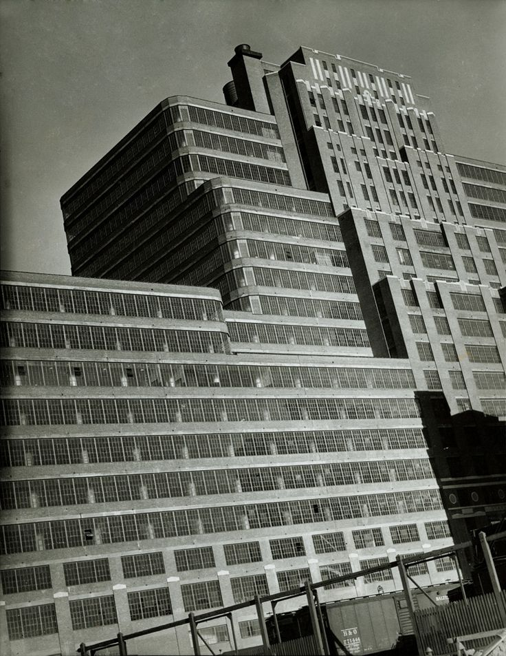 Starret Lehigh Building 601 West Street Between And Avenues Built In Designed By Cory Photograph Irving Browning PR NYHS Image