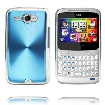 Alumiini Suojus (Sininen) HTC ChaCha Suojakuori