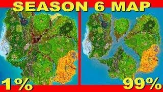 Fortnite Season 6 Map Leaked Fortnite Battle Royale Cube Event