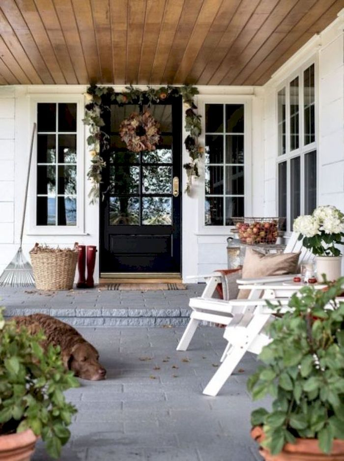 21 Perfect Fall Front Porches Decorations On A Budget Decorhit Com