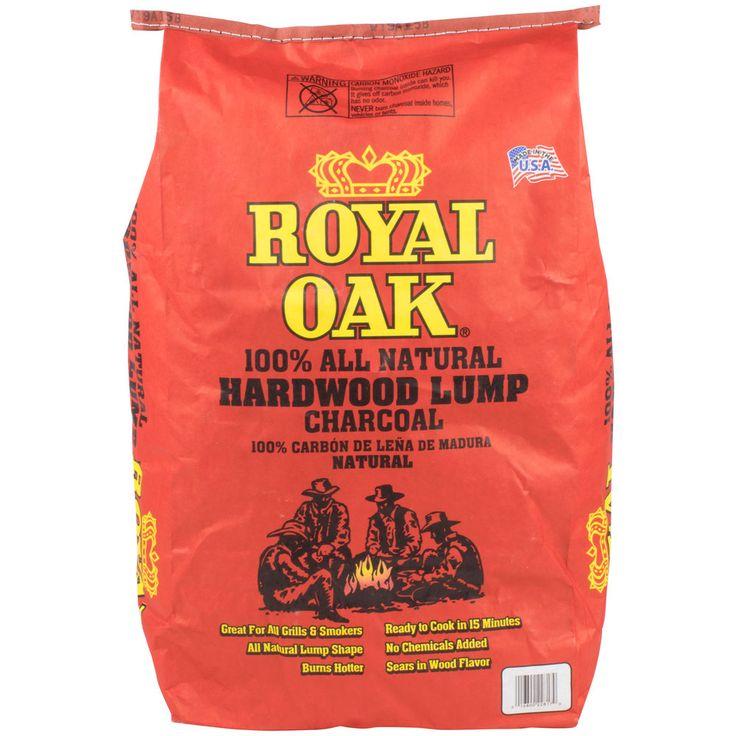 #Contest Royal Oak Natural Wood Lump Charcoal - 15.4 lb.
