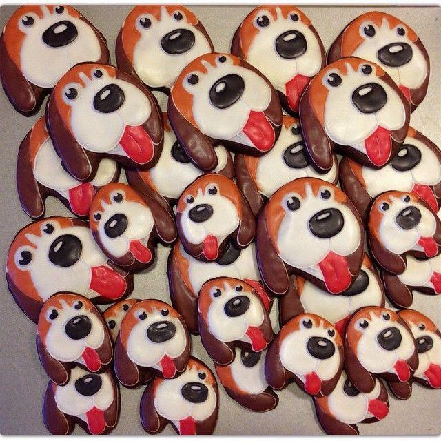 #пряникиназаказ #пряникиимбирные #бигль #пряниксобачка #домашняякондитерская #детскийпраздник #cookies #gingerbread