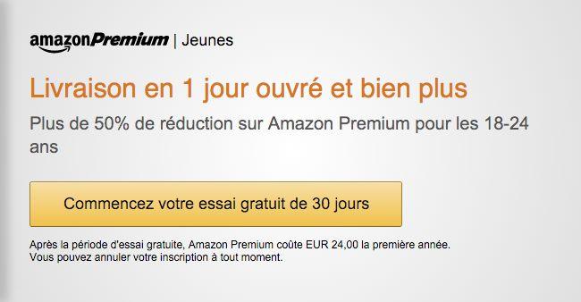 Bon plan : Amazon Premium est à - 50 % pour les 18-24 ans et toujours un mois offert - http://www.frandroid.com/marques/amazon/338839_plan-amazon-premium-a-50-18-24-ans-toujours-mois-offert  #Amazon, #Bonsplans