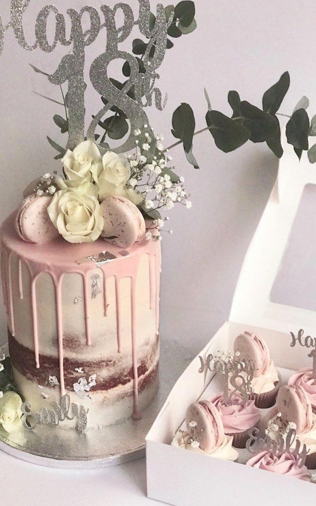 Female 18th Birthday Cake : female, birthday, Elegant, Photo, Birthday, Cakes, Luxury, Dr…, Girls,, Cake,