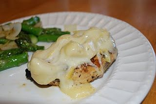 South beach Diet Phase 1  Cheesy Artichoke Chicken. I don't know about following the SBD but this looks yummy