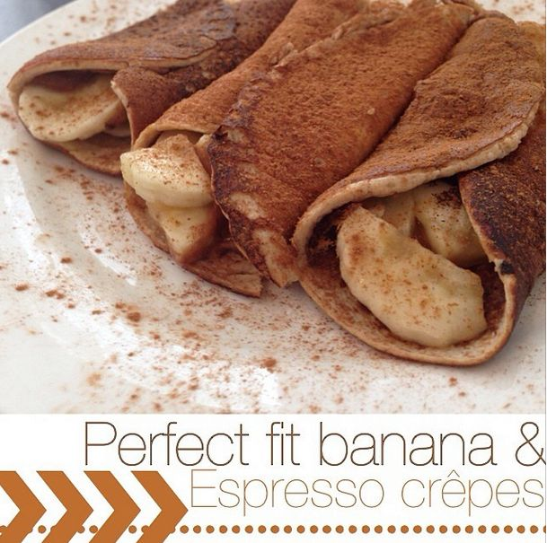 ... , stuff them with peanut butter & banana, and roll them into crepes