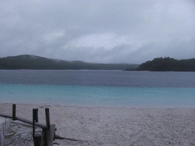 Lake MacKenzie, Fraser Island. Pic by Juanita