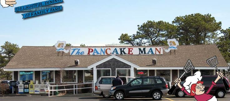 The Pancake Man is a full service family restaurant located at the intersection of Route 28 and Long Pond Drive in South Yarmouth. Cape Cod Restaurants