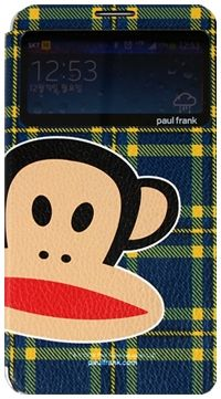 For Samsung Paul Frank CheckWindow Navy