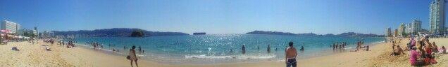 Panoramica #acapulco #guerrero #beach