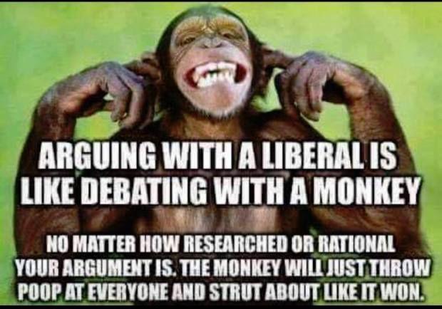 Arguing With A Liberal Meme AI