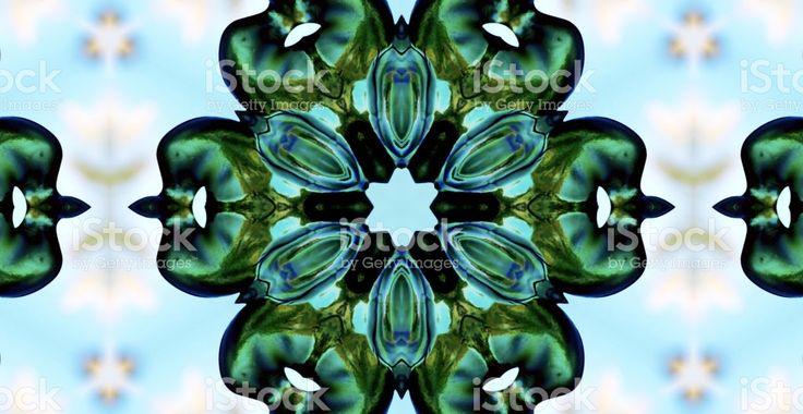 New Zealand/ Aotearoa Tiki Feet Mandala royalty-free stock photo