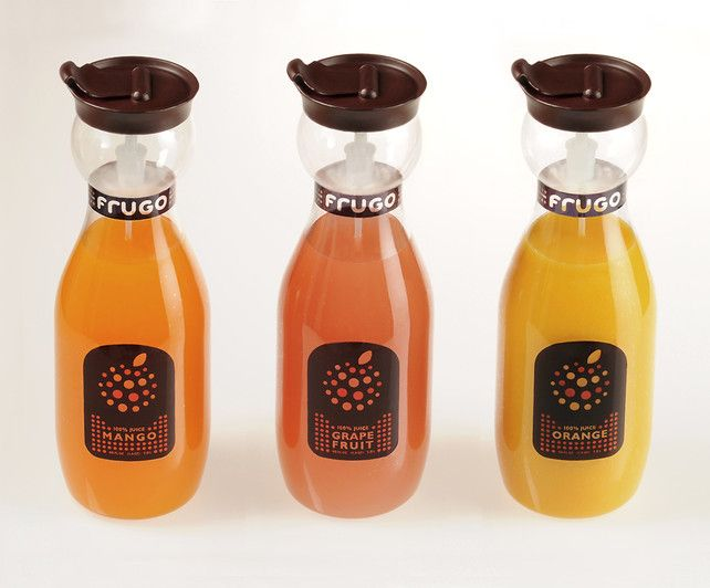 Frugo: A Juice Bottle With Built In Portion Control