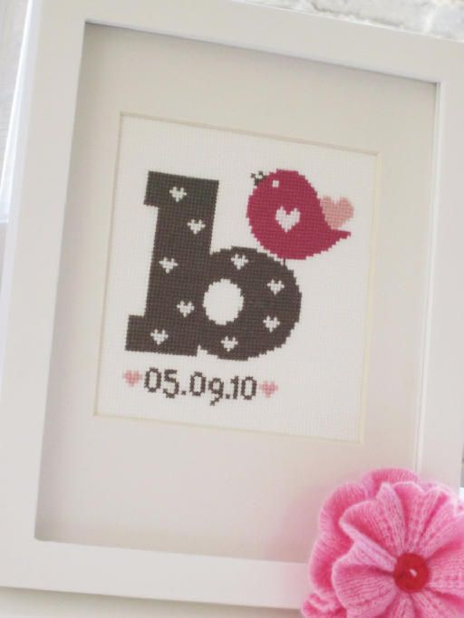 Great idea for a nursery wall or gift for a new baby