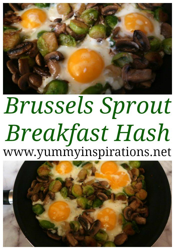 Simple Brussels Sprout Hash