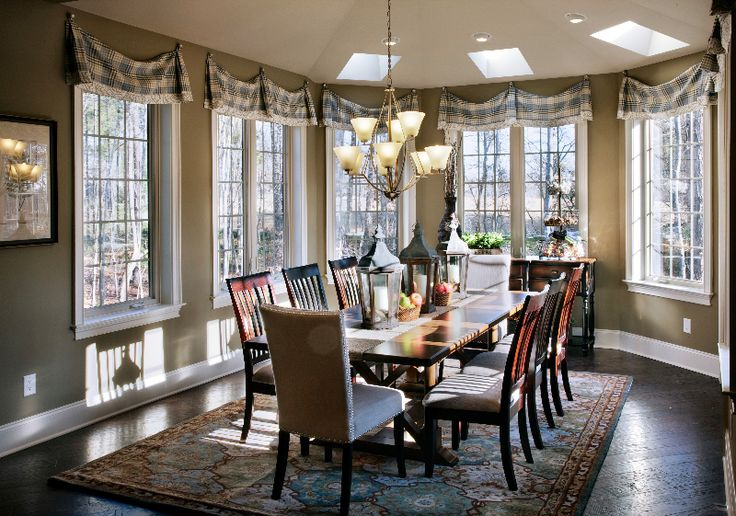109 best images about dining rooms on pinterest eagle for Model home dining room