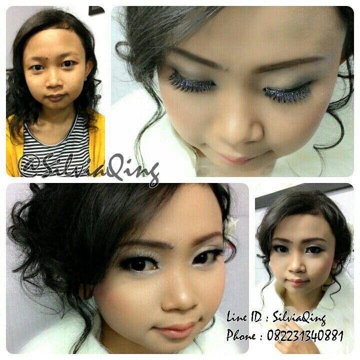 Make up & hairdo for special day #makeup #beauty #hairdo #hairideas #messy #wedding #beautifulinwhite #makeupartist #MUA #silviaqingMUA