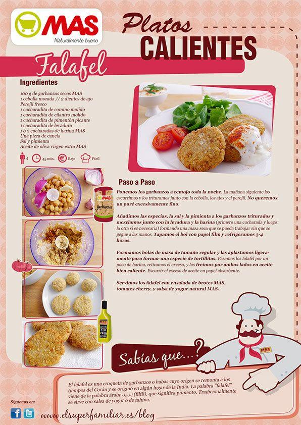 Qué rica forma de tomar garbanzos: ¡prueba este delicioso Falafel y nos cuentas! #InfoReceta #Receta