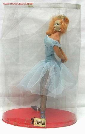 Muñeca Layna tipo Roldán años 60